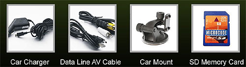 Dash Cam Product Contents