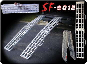 Lightweight Folding Dual Ramps