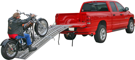 Motorcycle Ramps for Truck Loading