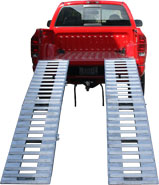 Heavy Duty Motorcycle Ramp System