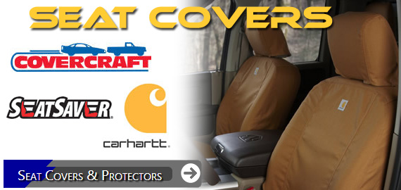 Covercraft and Carhartt Seat covers