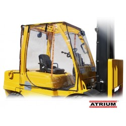 Atrium Full Forklift Cab Enclosure