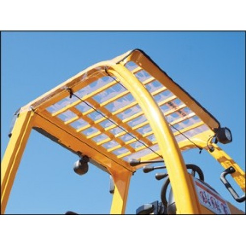 Forklift Windshield And Canopy Cover
