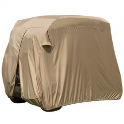 6-Passenger Easy-On Golf Cart Cover - LT. Khaki