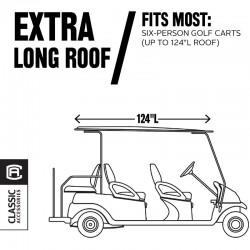 6-Passenger Fairway Deluxe Golf Cart Enclosure