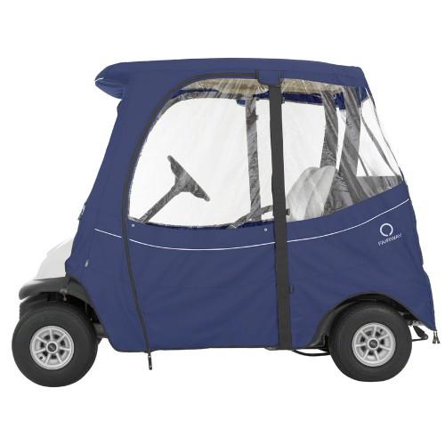 Fairway fadesafe club car 2 person golf cart enclosure for Narrow golf cart