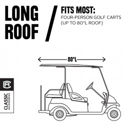 4-Passenger Fairway Quick-Fit Golf Cart Cover