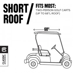 2-Passenger Fairway Quick-Fit Golf Cart Cover