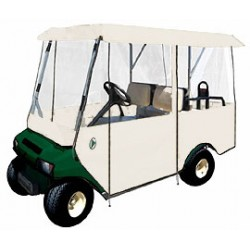 4-Passenger Golf Cart Enclosure