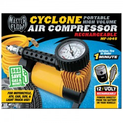 MasterFlow Cyclone Rechargeable Air Compressor