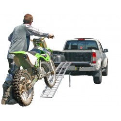 Single Rung-Style Motorcycle Ramp