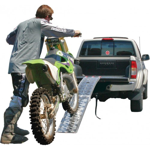 Single Plate-Style Motorcycle Ramp