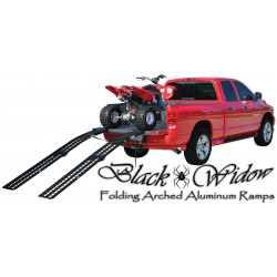 Black Widow Folding Arched Ramps