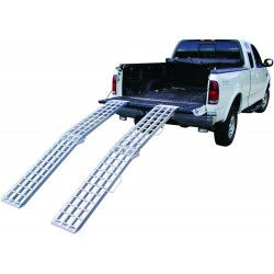 Lightweight Bi-Fold Aluminum All Terrain Vehicle Ramps
